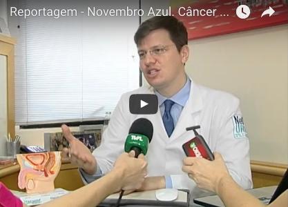 Novembro Azul. Câncer de próstata tem tratamento