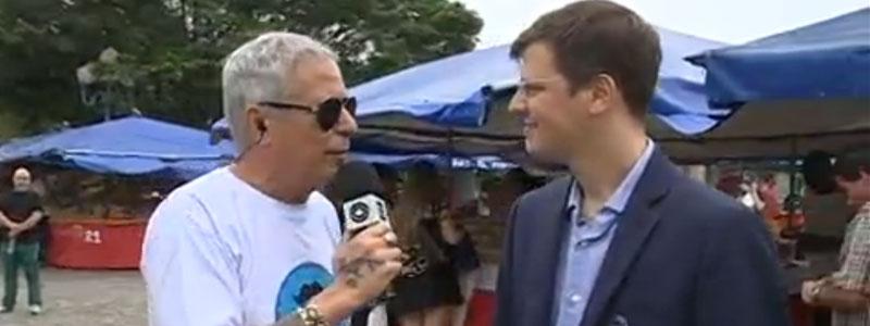Dr. Luís Felipe Piovesan fala sobre prevenção do câncer de próstata no quadro do Cacau Menezes no JA