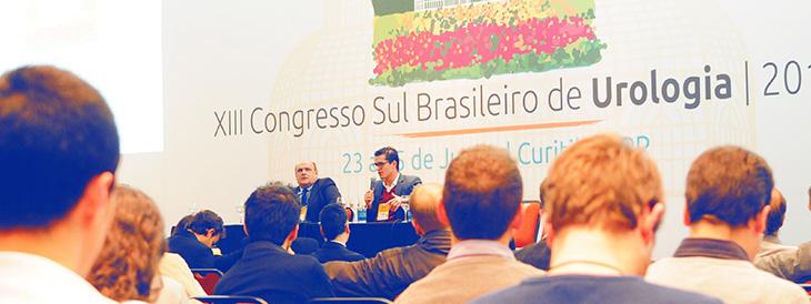 Dr. Luís Felipe e Dr. Ricardo palestram em Congresso de Urologia
