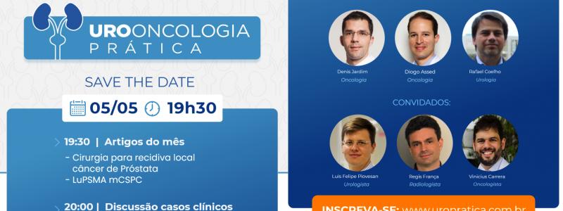 UROONCOLOGIA PRÁTICA discute casos complexos em câncer urológico