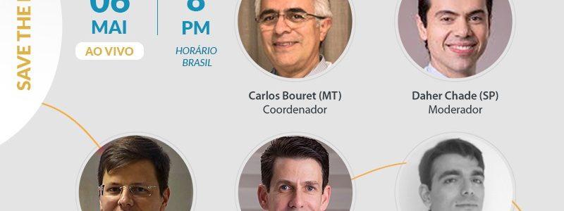 Dr. Luís Felipe participa de mais um projeto SBU em casa