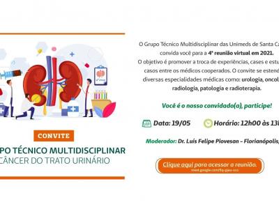 Dr. Luís Felipe modera discussão de casos no Grupo Técnico Multidisciplinar no Câncer do Trato Urinário